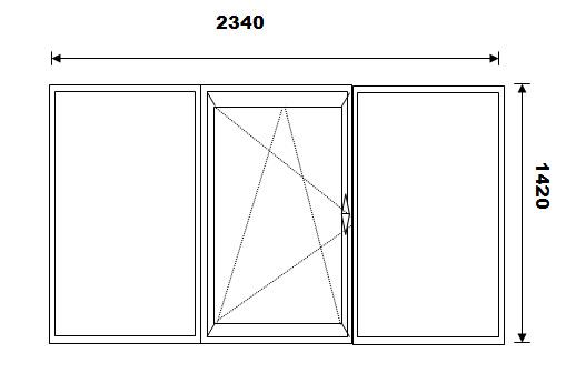 Balkonų stiklinimas PVC langais